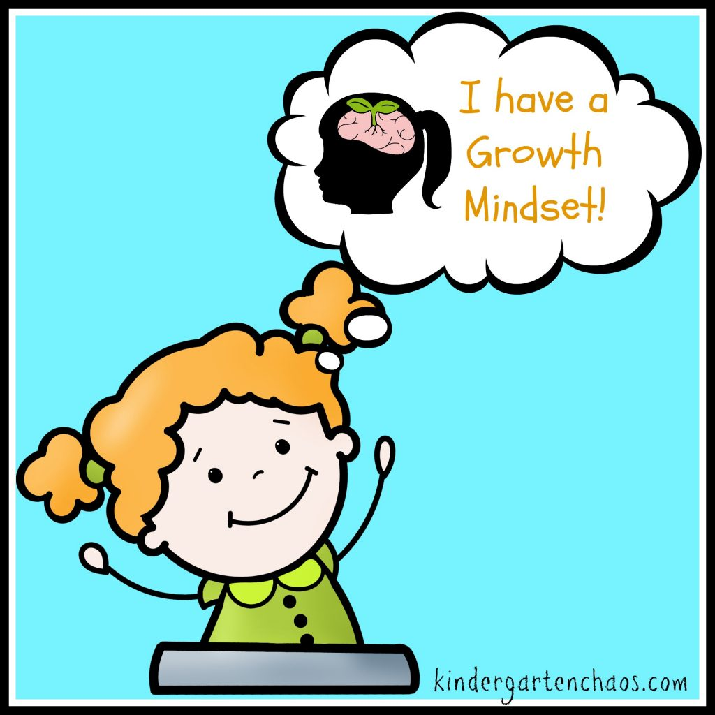 I Have a Growth Mindset - kindergartenchaos.com