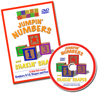 Jumpin' Numbers DVD