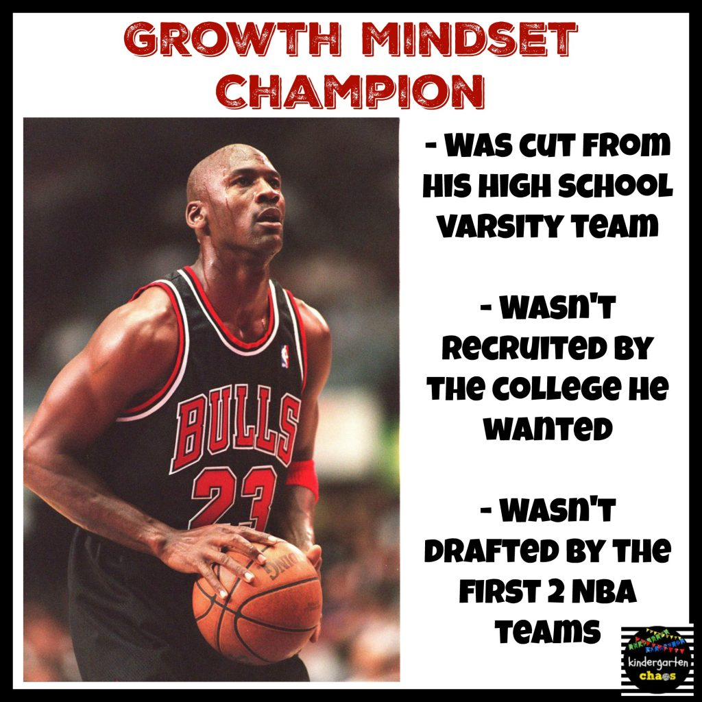 Michael Jordan - Growth mindset champion