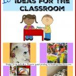 Sensory Table Ideas for the Classroom