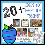 20+ Ideas for Meet the Teacher