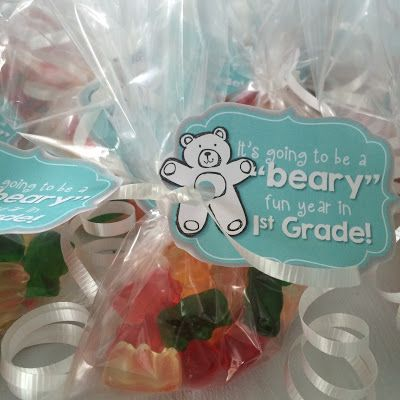 Beary Good Year - Meet the Teacher Idea