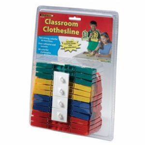 Classroom Anchor Chart Clothesline