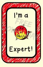 Fire Drill Expert Brag Tag Pic 2