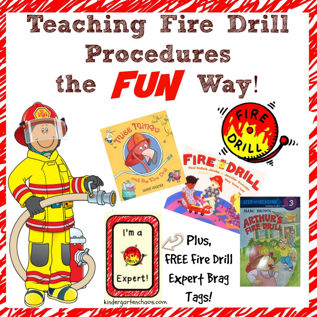 Fire Drill Procedures the Fun Way!
