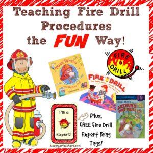 Teaching Fire Drill Procedures the Fun Way
