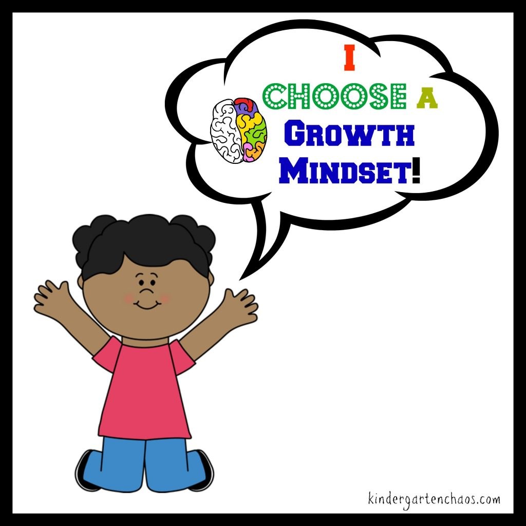 I CHOOSE a Growth Mindset Poster