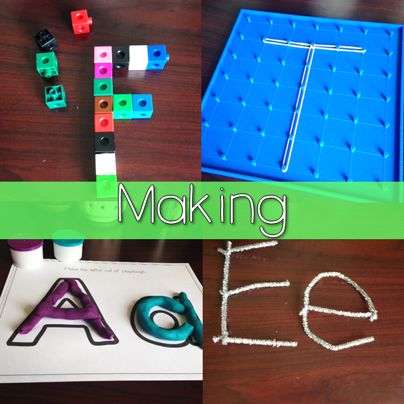Making Letters for Letter ID 3