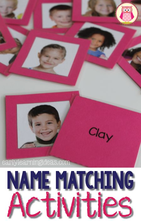 Name Matching Activities