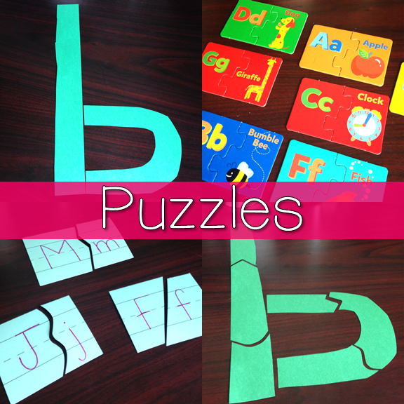 Puzzles for Letter ID 4
