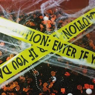 Sensory Table Halloween