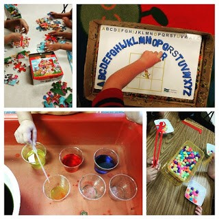 Sensory Table collage 1