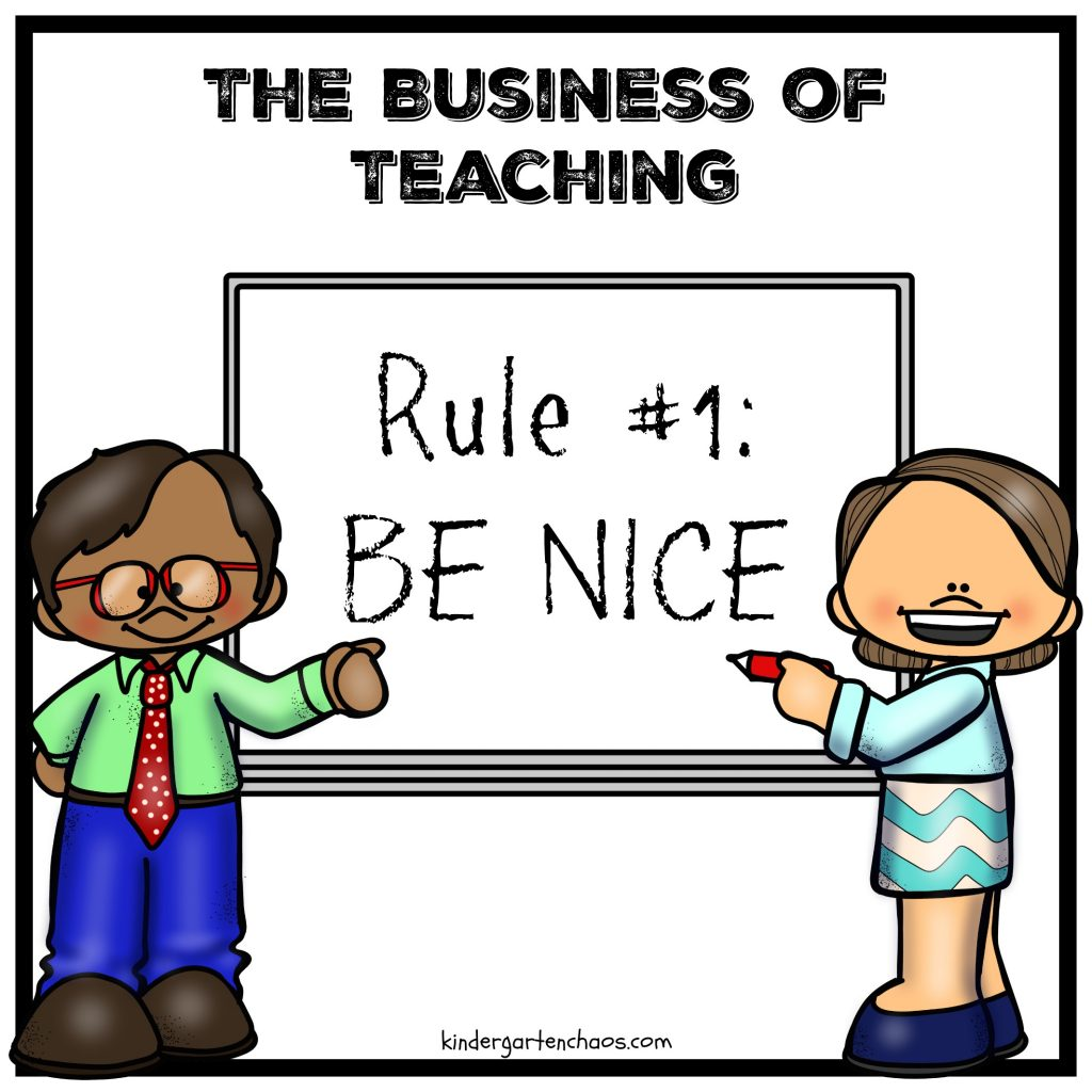 The Business of Teaching - kindergartenchaos.com