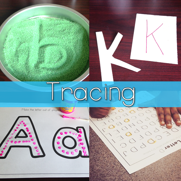 Tracing Letters for Letter ID 2