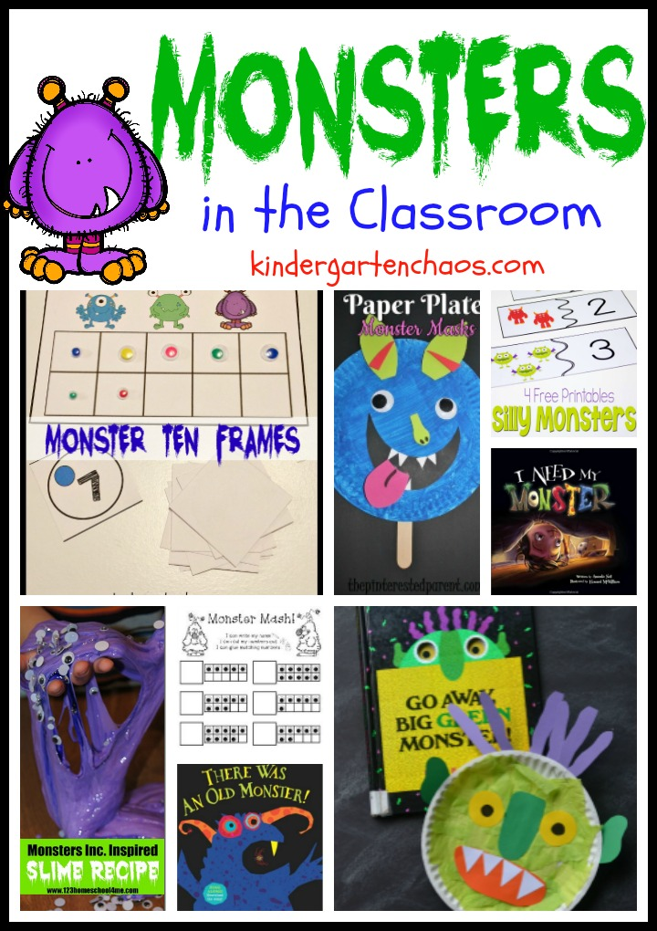 monsters-in-the-classroom-kindergartenchaos-com