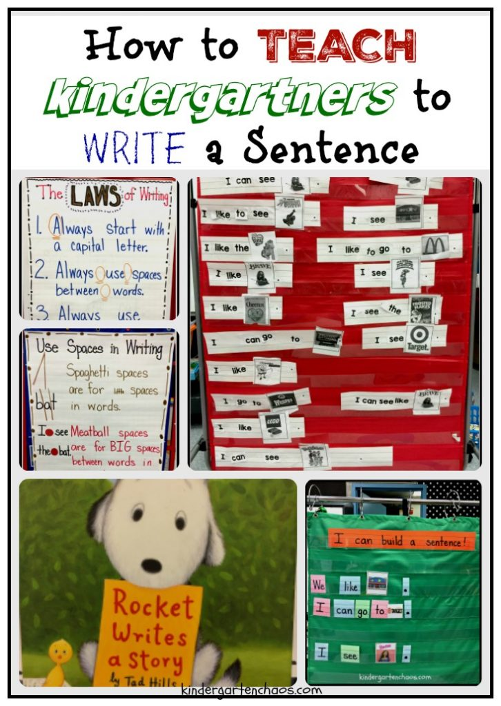 how-to-teach-kindergartners-to-write-a-sentence-kindergartenchaos-com