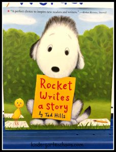 rocket-writes-a-story-teaching-writing-in-kindergarten-kindergartenchaos-com