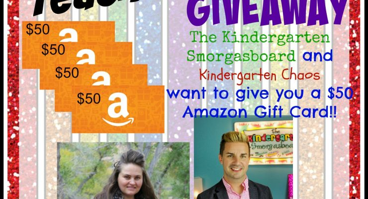 Teachers Rock $50 Amazon Gift Card Giveaway