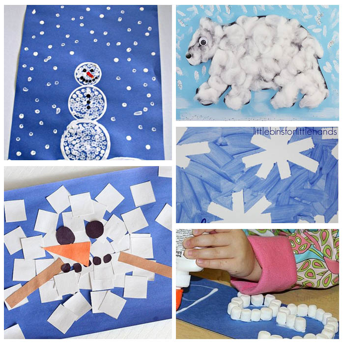Snow and Snowman Crafts