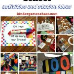 100th Day of School Ideas for Kindergarten