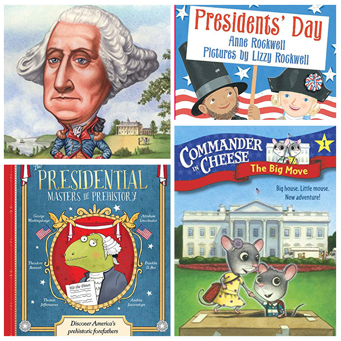 President's Day In The Classroom: Books
