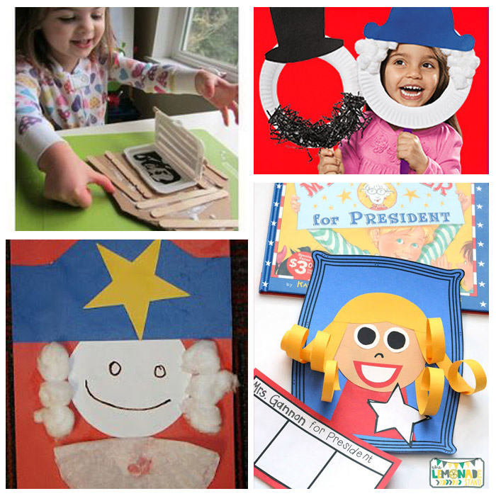 President's Day In The Classroom: Crafts