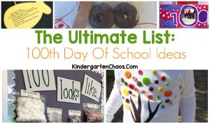 The Ultimate List of 100th Day Ideas: Printables, Math, Language, Crafts, Outfits, and more!