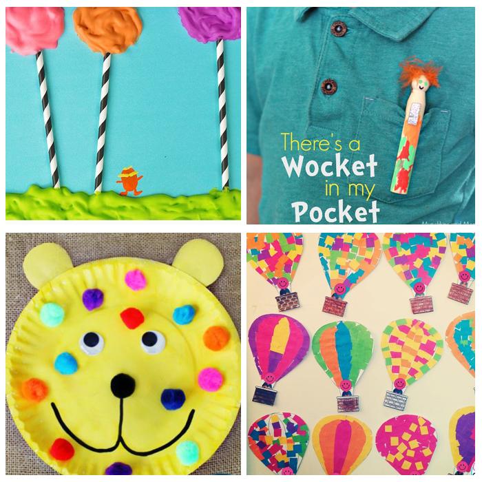 Dr. Seuss Activities For The Kindergarten Classroom: Crafts