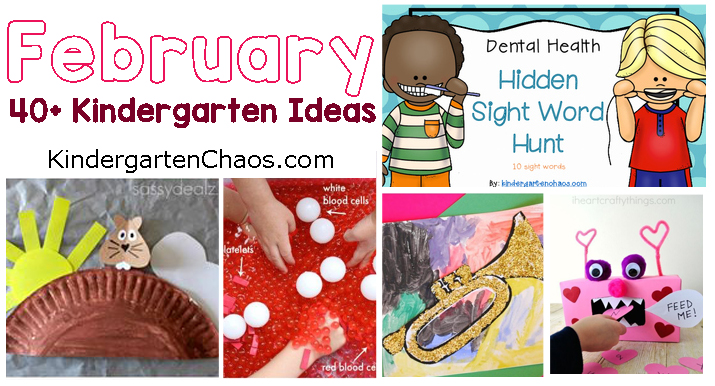 February Themes For Your Kindergarten Class