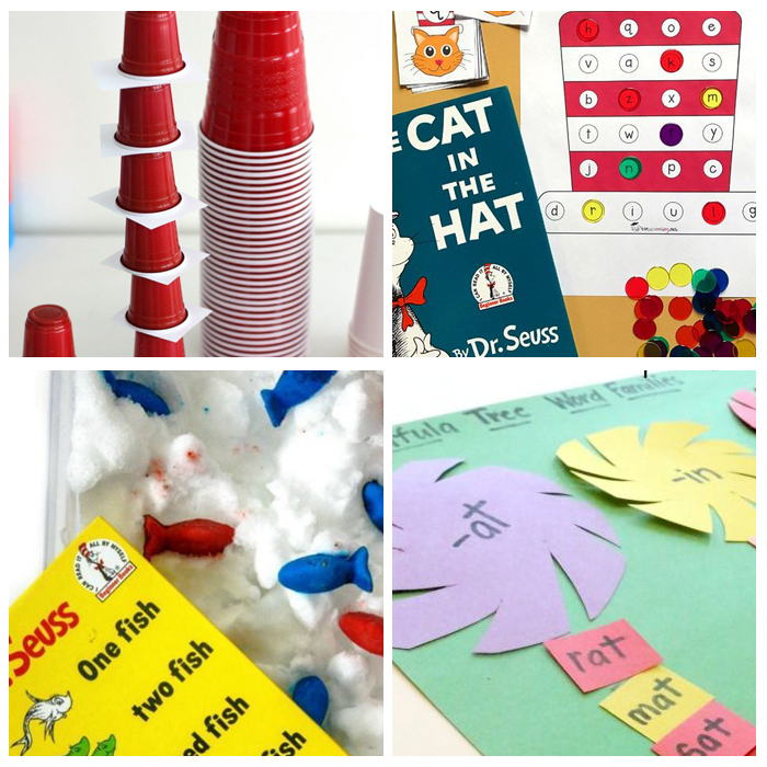 Dr. Seuss Activities For The Kindergarten Classroom: Hands On Activities