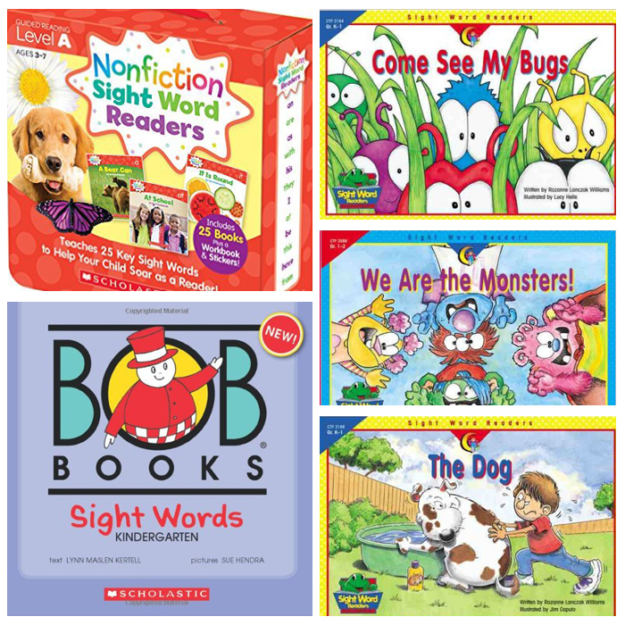25+ Kindergarten Sight Word Activities: Books