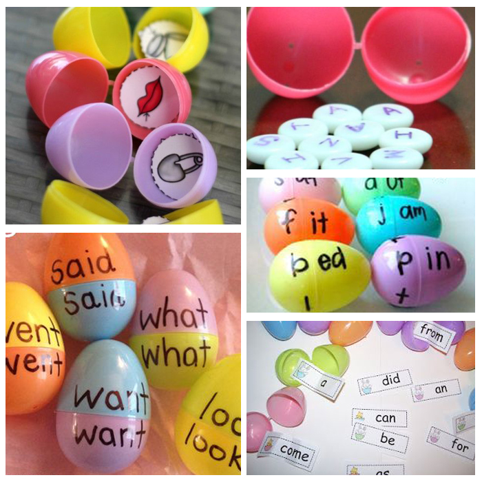 How To Use Plastic Eggs In The Classroom For Literacy