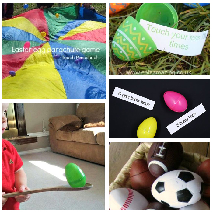 How To Use Plastic Eggs In The Classroom For Gross Motor Activities
