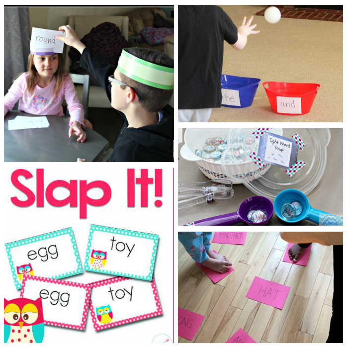 25+ Kindergarten Sight Word Activities: Games