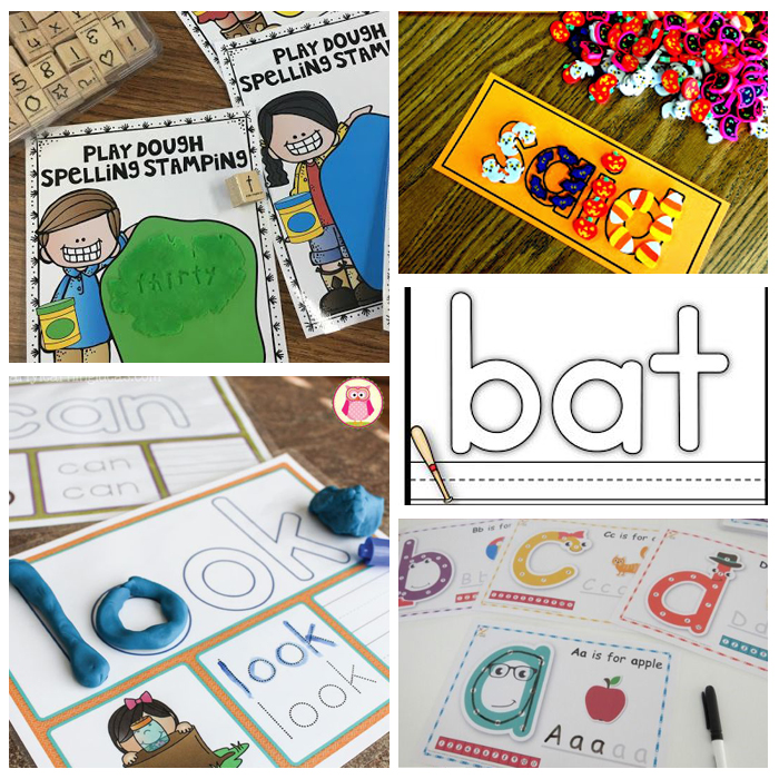 25+ Kindergarten Sight Word Activities: Mats