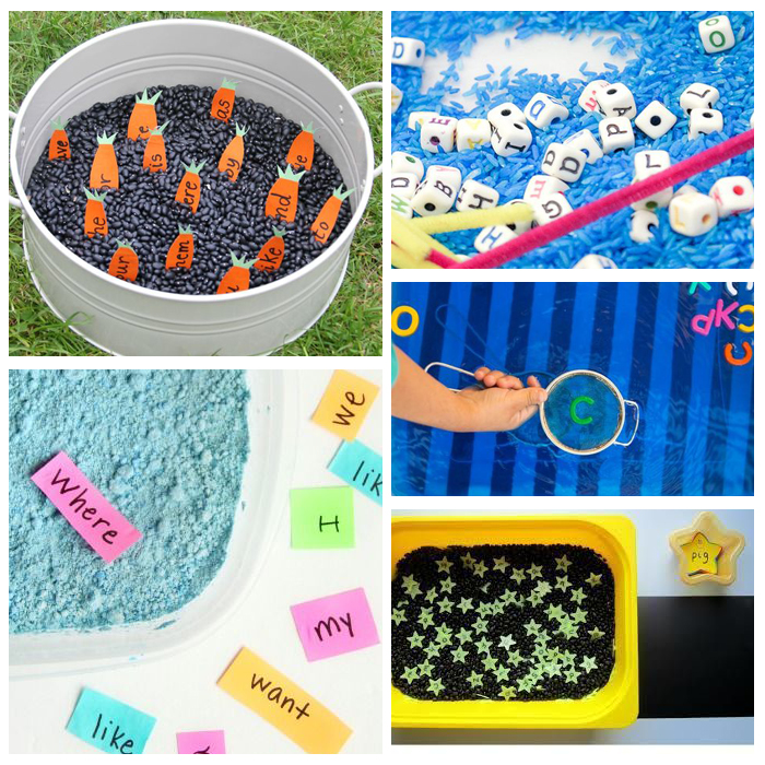 25+ Kindergarten Sight Word Activities: Sensory