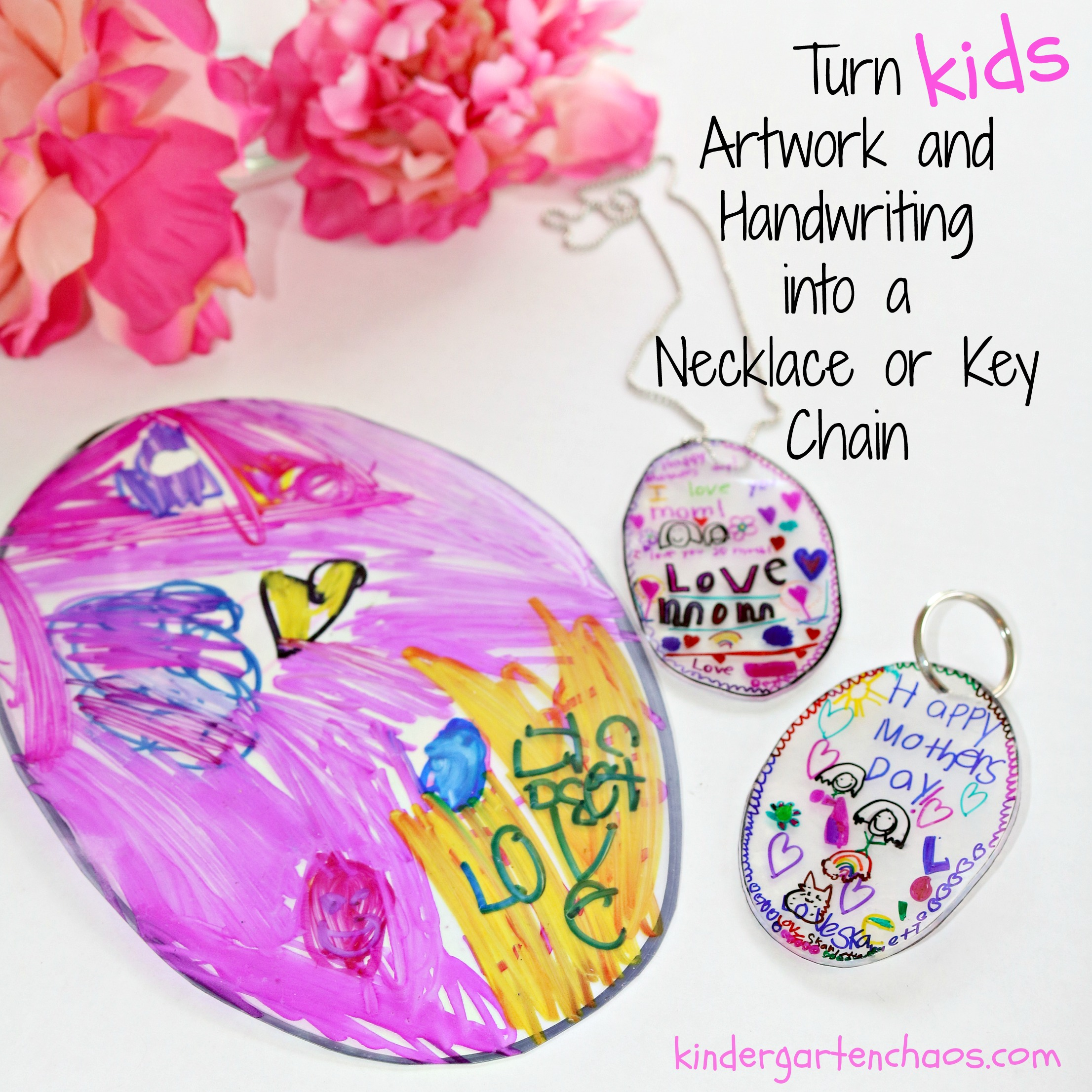 Mothers Day Necklace or Keychain