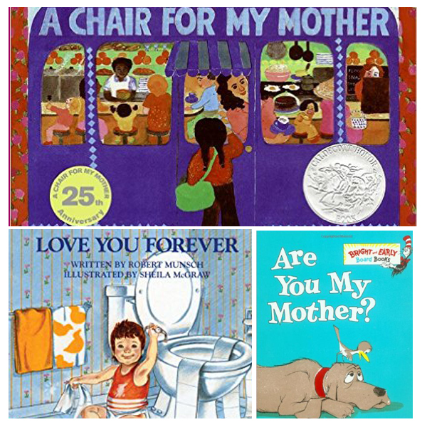 Our Favorite Books About Moms. Great for explaining Mother's Day to kids.