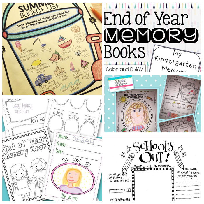 photo relating to End Year Printable Activities identify Enjoyable Innovative Finish Of The Faculty 12 months Strategies
