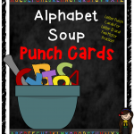 Printable Alphabet Soup Letter Punch Cards