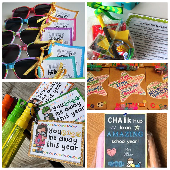 Inexpensive & Easy Classroom and Student Gifts