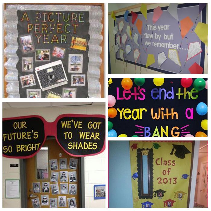 Fun Bulletin Board & Classroom Door Ideas For The End Of The School Year