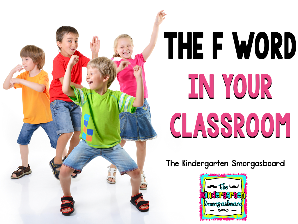 Keeping Fun in the Classsroom – The Kindergarten Smorgasboard