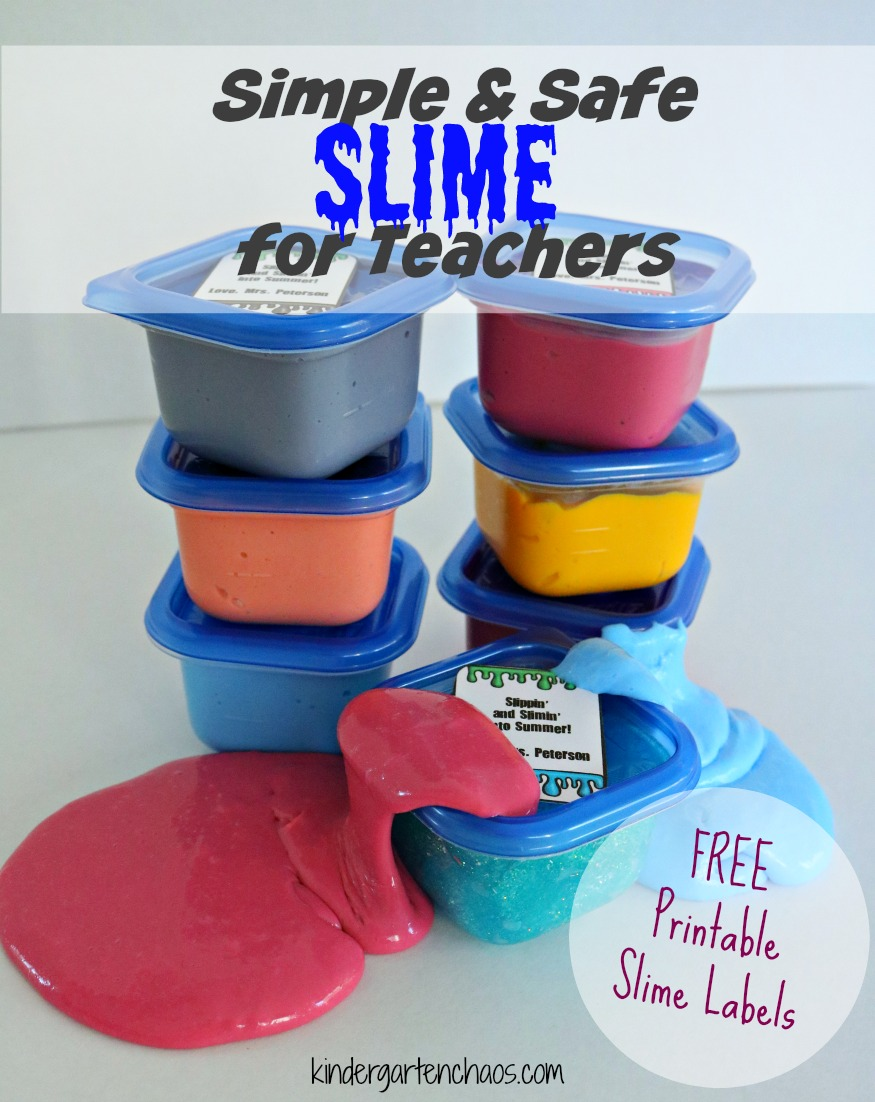 Simple Safe Slime: A Recipe for Teachers