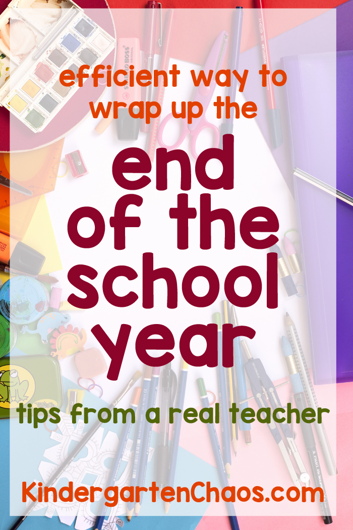 Tips For Wrapping Up The End Of The School Year