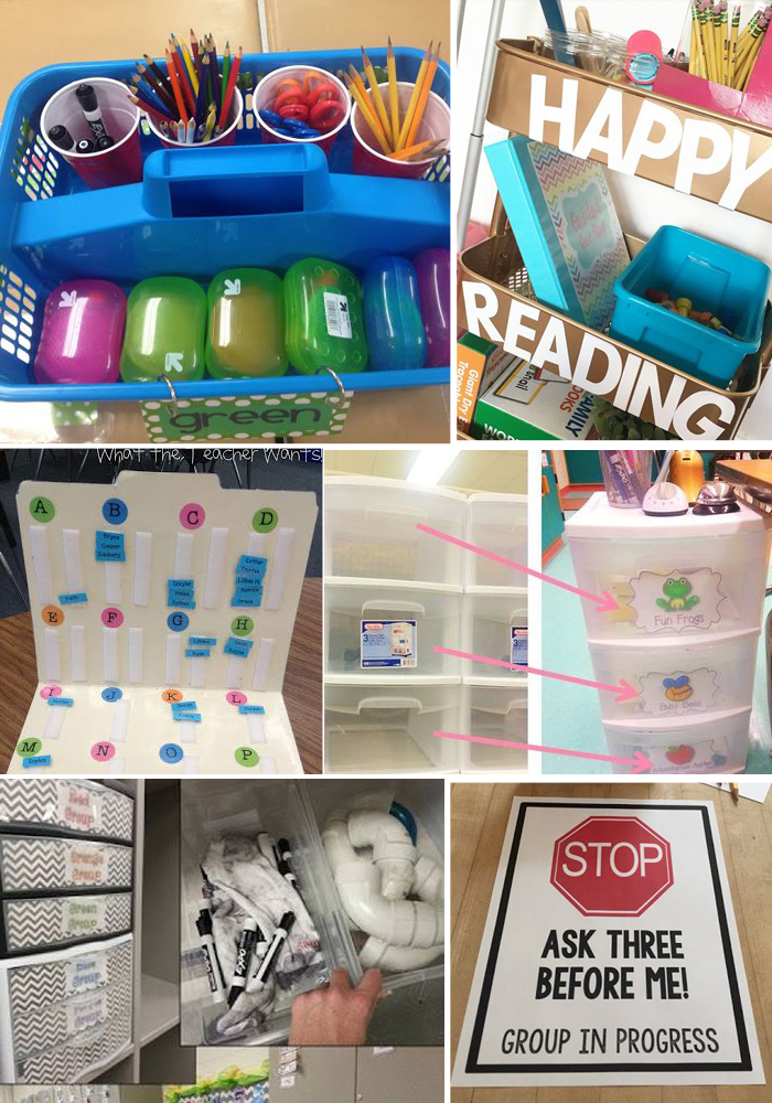 25+ Ideas For Organizing Guided Reading Supplies & Materials In The Classroom