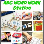 Teaching Kindergartners to Use the ABC Word Work Station
