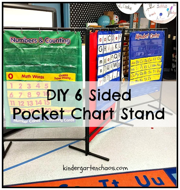I Started Out Using Just 2 3 Pocket Charts But That Wasn T Enough After Seeing Kindergarten Smorgasboard S Diy Chart Had My Husband Make Own