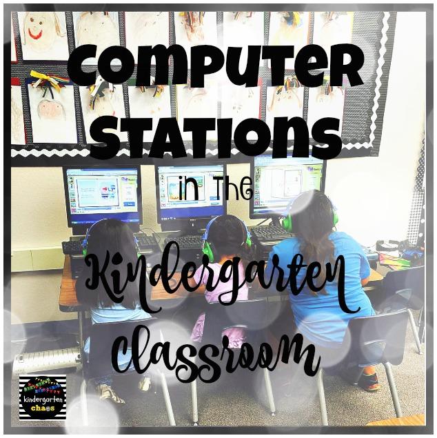 Computer Station in the Kindergarten Classroom
