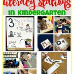 How to Start Literacy Stations in Kindergarten